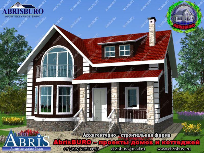 Архитектурные проекты домов и коттеджей ABRISBURO