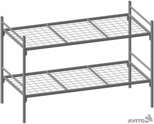 Металлические кровати для санатория, пансионата, кровати оптом