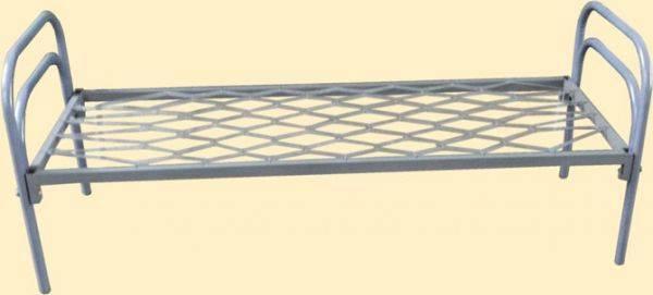 Армейские железные кровати оптом от производителя. Кровати металлические для гостиниц