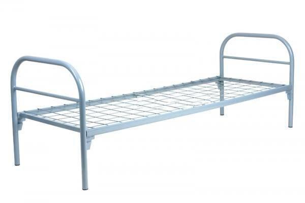 Кровати металлические для летних лагерей, кровати для рабочих