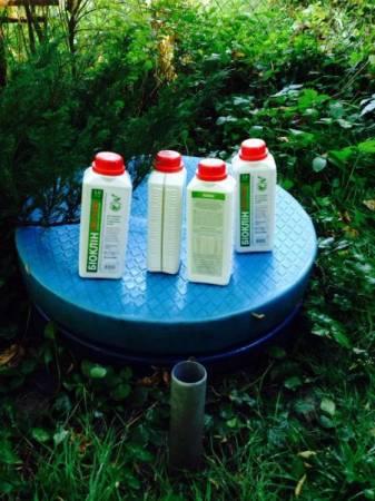 Биопрепарат Биоклин для выгребных ям и восстановления  дренажа.