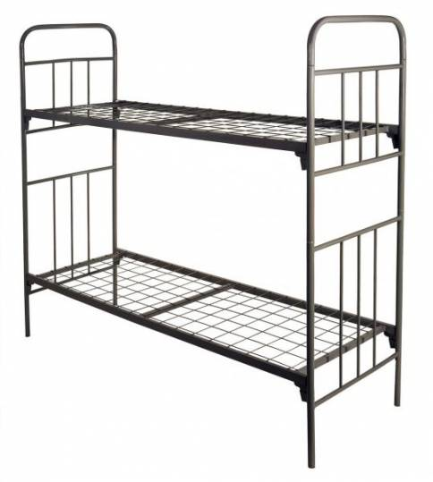 Кровати металлические для учебных заведений, кровати для лагеря