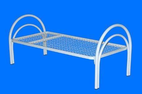 Кровати металлические одноярусные и двухъярусные