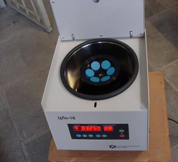 Лабораторная настольная высокооборотная центрифуга ротор 6х50