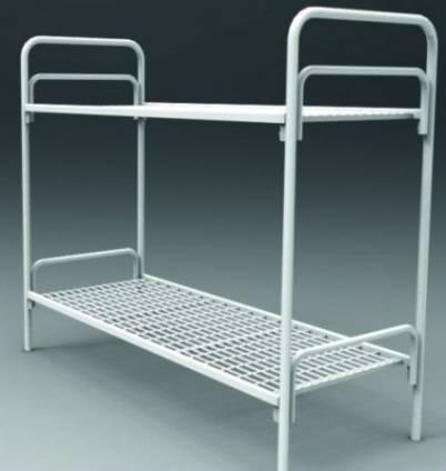 Металлические кровати для учебных заведений, госпиталей