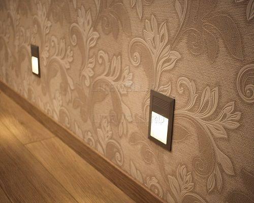 Светильники освещения ступеней, стен, лестниц. Светодиодная подсветка не требующая замены ламп.