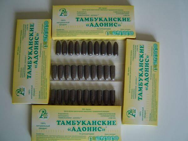 Тамбуканские адонис свечи