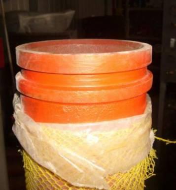 Труба разгонная (разгонка, редукционная) бетононасоса SCHWING DN 150/125 1600