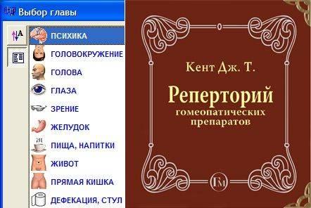 реперториум Кента Пересвет. Программы по гомеопатии центра Пересвет (Москва)