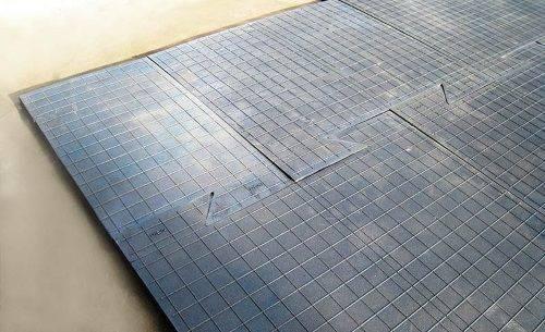 Прочная толстая вулканизированная резиновая плитка для технического пола