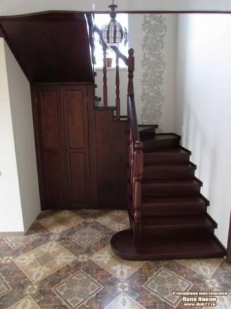 Лестницы из ясеня, дуба и березы