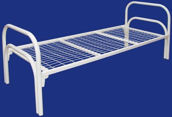 Полуторные кровати, Кровати металлические односпальные, Кровати для больниц, бытовок