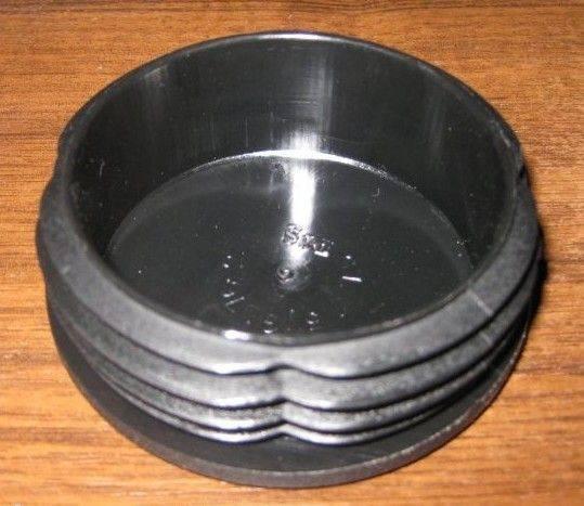 Пластиковые заглушки для металлических труб.