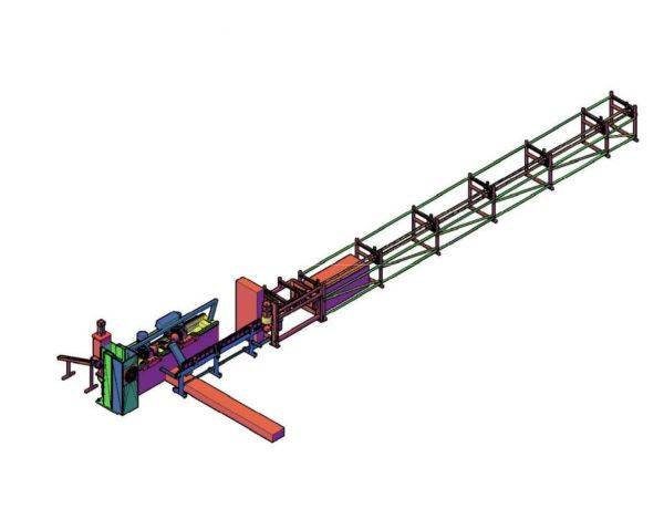 Станок для изготовления арочной скобы М 16 – М 24