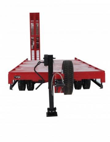 Низкорамный прицеп тандем для перевозки техники до 15 тонн модель 9835-71