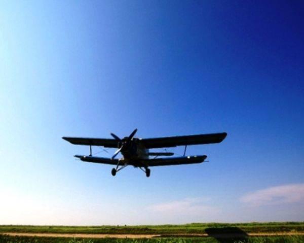Послуги авіації з внесення фунгіцидів