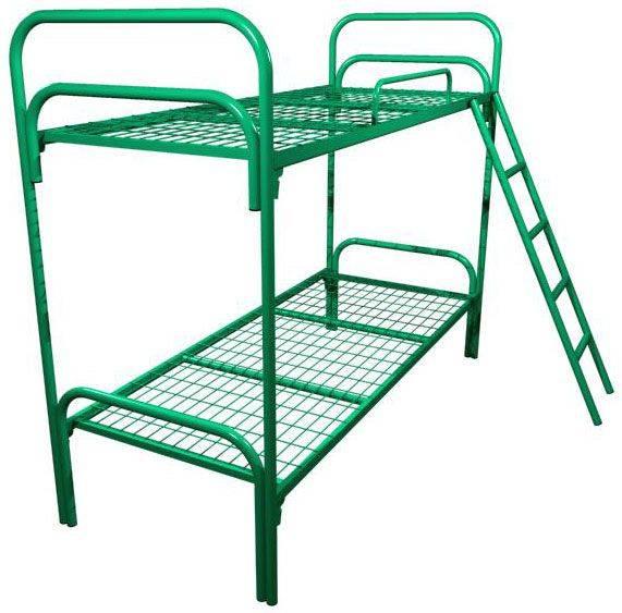 Кровати с металлической сеткой и спинками из ДСП, кровати от производителя