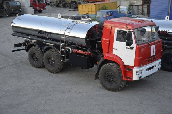 Автоцистерна специализированная АЦ-43118