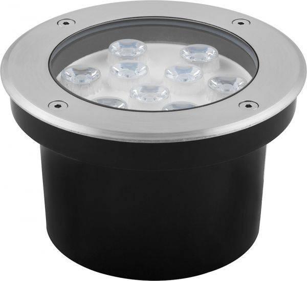 Светодиодный светильник тротуарный (грунтовый) Feron SP4113 9W 6400K 230V IP67