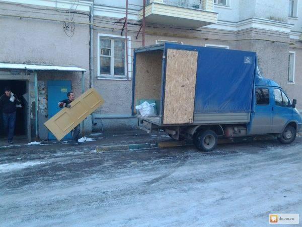 Уборка и вывоз мусора из квартиры Камаз, зил