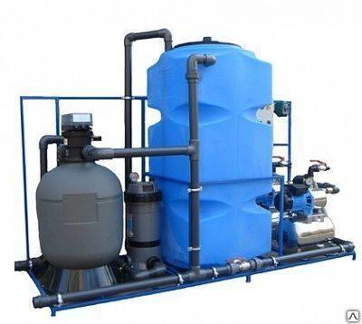 Очистка воды / просчет сметы системы очистки воды / монтаж