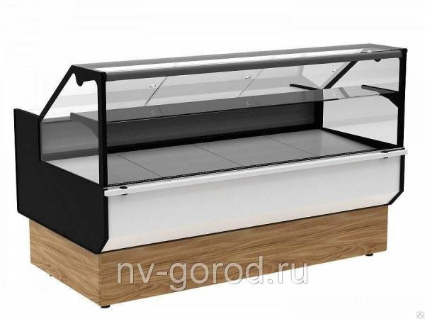 Холодильная витрина Полюс ВХСр-1, 8 Carboma GC95 (GC95 SV 1, 8-1 KombiLux / I