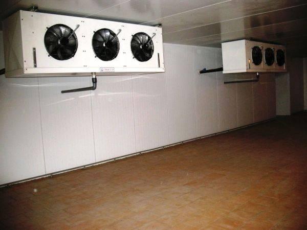Производство и строительство холодильных камер и складов от 3 до 30000 м3 в Крыму.