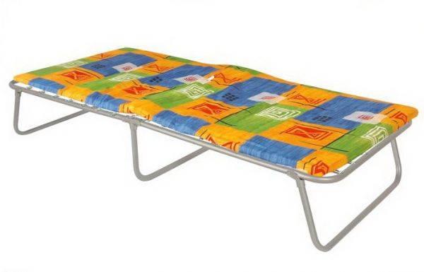 Раскладушки, Кровати металлические для обстановки небольших помещений, строительных вагончиков