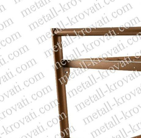 Manufacturer Кровать металлическая трехъярусная с лестницей