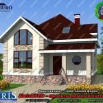 Фото Готовые проекты домов, коттеджей AbrisBURO... Повсеместно Abrisburo
