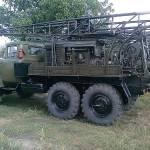 Фото Буровая установка УГБ 50 на базе Зил 131 с промывкой... Одесса Сергей Павлович