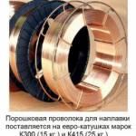 Фото пп-тн250 14ГСТ порошковая проволока для наплавки... Повсеместно Павел Николаевич