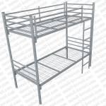 Кровать металлическая двухъярусная. Бытовая престиж 2КМ-2 без матраса.