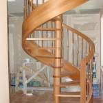 Фото Лестница открытого типа. Массив сосны... Барнаул Папа Карло фабрика деревянных изделий