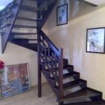Фото Лестницы в японском стиле из массива дерева... Барнаул Папа Карло фабрика деревянных