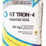 КТтрон4 МФ литьевой состав, содержащий металлическую фибру, для ремонта и изготовления высокопрочных бетонных конструкций