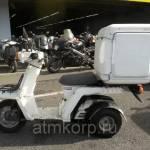 Фото Скутер грузовой большой кофр трехколесный HONDA GYRO X... Повсеместно Группа компаний ООО