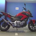 Фото Мотоцикл нейкед байк naked bike Honda NC 700 X A пробег 24... Повсеместно Группа компаний