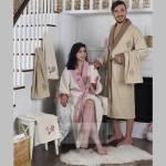 Фото Подарочный набор из двух халатов и четырех полотенец ADRA,... Москва Интернет-магазин