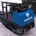 Pomor 380 1450 К6.5 Мотобуксировщик