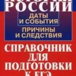 Фото История России. Даты и события, причины и следствия.... Москва Интернет-магазин