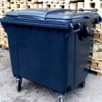 Фото Мусорный контейнер для ТБО 1100л Серый... Краснодар Smart Pallet