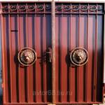 Фото Ворота с элементами ковки Леон... Тамбов Автор 68 7 лет на портале!