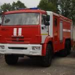Фото Автоцистерна пожарная АЦ-6-40 на шасси Камаз 43118... Москва АО МРО ТЕХИНКОМ