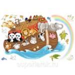 Фото Наклейки для декора Ноев ковчег... Москва Интернет-магазин SuperLarek.ru