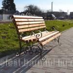 Фото Скамейка садовая кованая изготовим на заказ доставка по... Барнаул Гефест-Барнаул (ИП