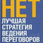 Фото НЕТ. Лучшая стратегия ведения переговоров... Москва Интернет-магазин SuperLarek.ru