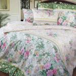 Фото Комплект постельного белья Римский дворик перкаль, Евро... Москва Интернет-магазин