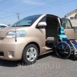 Фото Авто для пассажира колясочника минивэн TOYOTA PORTE гв 2012... Повсеместно Группа компаний