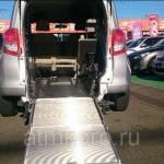 Фото Авто для пассажира колясочника минивэн TOYOTA RACTIS гв 2011... Екатеринбург Группа